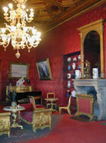 Crimson Drawing room. Click to enlarge.
