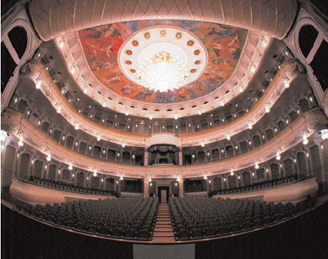 Bolshoi Ballet and Opera theatre - Hall View