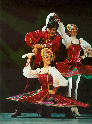 how to play ameb russian dance